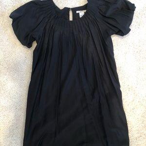 Kensie Black puff sleeve dress
